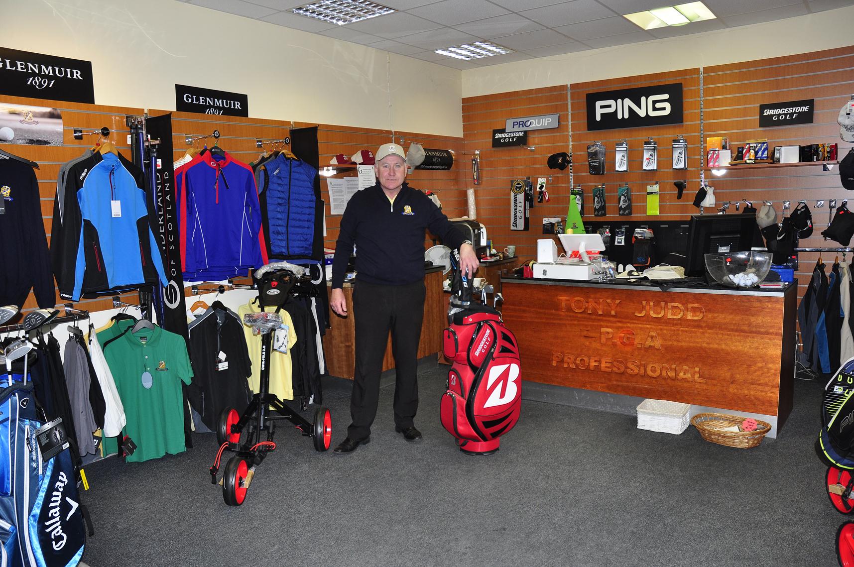 Tony Judd PGA Professional